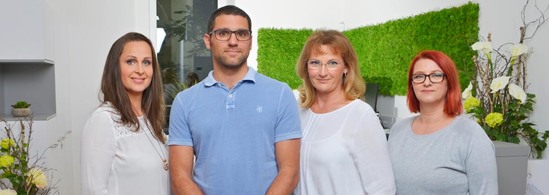 Team von der Arztpraxis Eidler Urologie in Wien